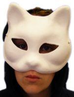 Mache Cat Mask