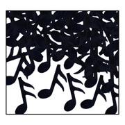Musical Notes Confetti - Black