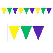 Mardi Gras Pennant Banner