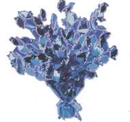Graduation Cap Mylar Centerpiece, Available in 5 Colors