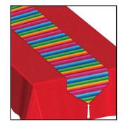 "Fiesta Stripe Table Runner - 11"" X 6'"