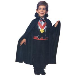 "27"" Kids Cape - Available in red or black"
