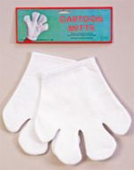 Costume Felt Cartoon Mitts