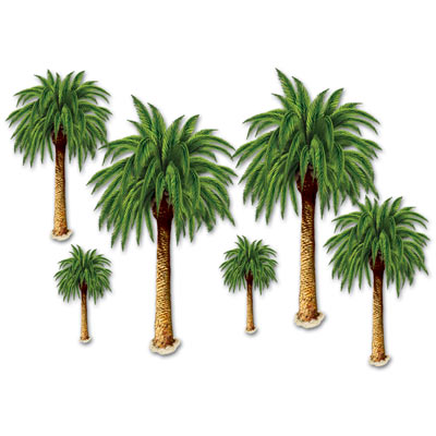 Palm Trees Props