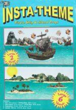 Insta-Theme Pirate Ship & Island Props
