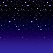 Starry Night Backdrop Camp Observatory telescope