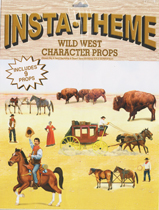 Insta-Theme Wild West Character Props