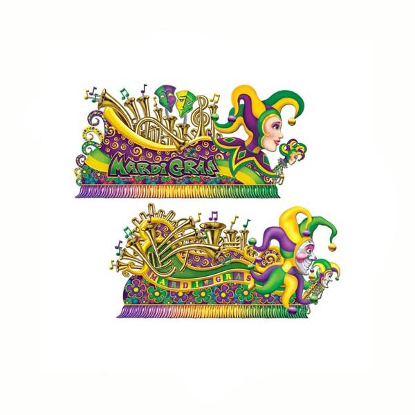 Mardi Gras Float Prop Cutouts