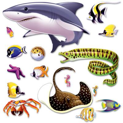 Insta Theme Marine Life Props