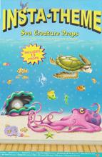 Insta-Theme Sea Creatures Props