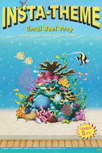 Insta-Theme Coral Reef Prop