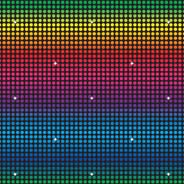 Disco inst-theme backdrop multi-colored