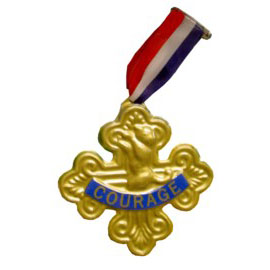 Cowardly Lions Badge Of Courage