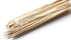 "10"" Party Natural Bamboo Skewer Sticks"