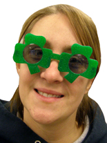 Lucky Shamrock Sunglasses