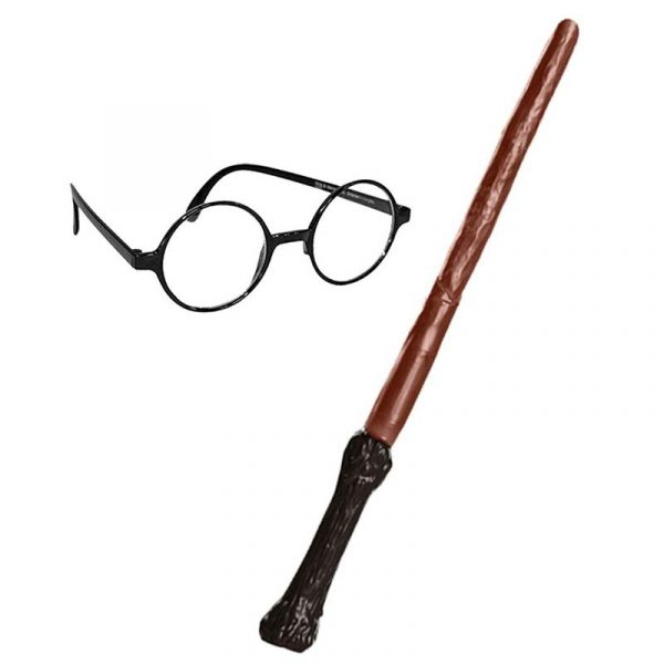 Harry Potter Kit with Wand and Glasses