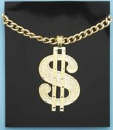 Big Daddy Dollar Sign Necklace