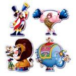 Clown, Circus, Magic, & Theater Decorations