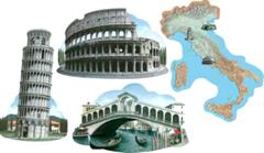 16 Inch Assorted Italian Cutouts