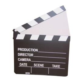 Film Clapper Cardboard Standup