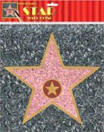 Star Peel-N-Place Sidewalk Star