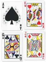 """17.5"""" Playing Card Cutouts Casino Poker Monte Carlo"""