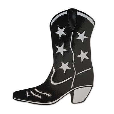 Cowboy Boot Silhouette Cutout