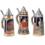 "Oktoberfest 18"" Beer Stein Cutouts - 3/package"