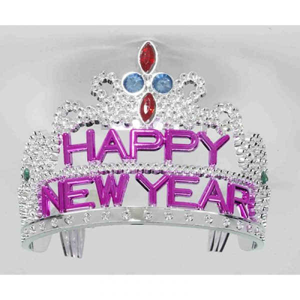 Plastic Happy New Year Tiara