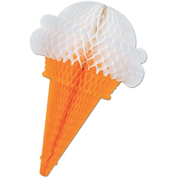 Tissue Ice Cream Cone