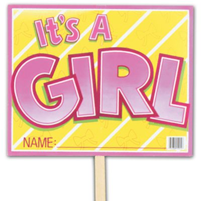 Yard Sign - It's A Girl