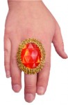 Giant Adjustable Costume Jewel Ring