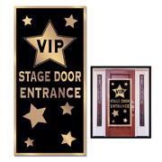 """""""VIP Stage Door Entrance"""" Plastic Door Cover"""