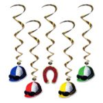 Jockey Helmet Whirls - 5 Pack