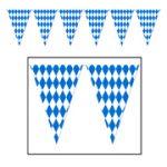 "Oktoberfest Pennant Banner - 17"" X 120'"