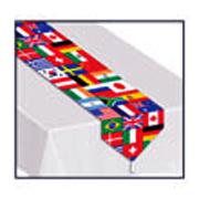 International Flags Table Runner