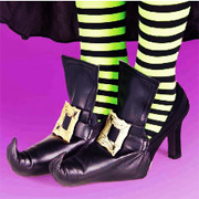 Costume Witch Shoe Covers