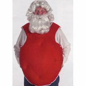 santa belly stuffer vest
