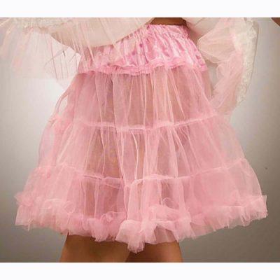 Pink crinoline slip