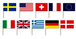 International Mix Flag Appetizer Toothpicks