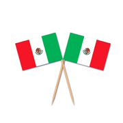 Mexican Toothpick Flag Picks