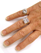 Costume Diamond Rings