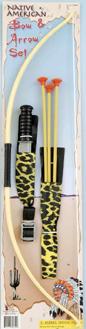 Indian Bow Arrow Knife Set