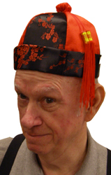 Chinese Hat With Tassels - Chinese New Year