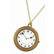 Plastic Hip Hop Jumbo Clock Necklace