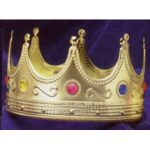 King's Crown with Jewels Adult size