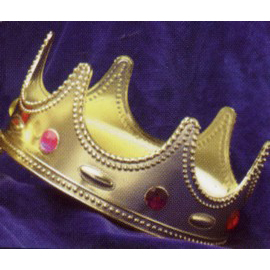 King's Crown with Jewels - Child Size