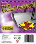 Ground fog Liquid - for ground fog machine fog doesn't rise