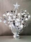 Silver Star Balloon Centerpiece