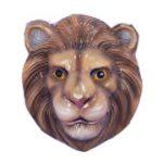 Costume Vacuum Form Plastic Face mask - Lion